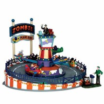 Lemax Halloween Zombie Plane Ride With Sights And Sounds - £103.96 GBP
