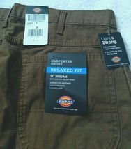 """Dickies Men's 11"""" Relaxed Fit Lightweight Duck Carpenter Shorts image 6"""