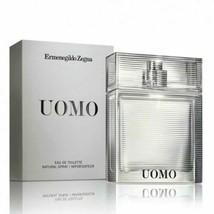 UOMO by Ermenegildo Zegna 1.0 oz EDT Spray Men's Cologne 30 ml NIB SEALED  - $25.17