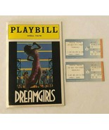 1985 Dreamgirls Playbill and Ticket Stubs Pair The Imperial Theatre New ... - $19.99