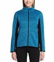 Andrew Marc York Women's Long Sleeve Jacket Heather Teal Green XXL - NEW - $69.99