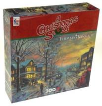 Ceaco Thomas Kinkade A Christmas Story 300 Pc Jigsaw Puzzle 24x18 2247-0... - $7.39