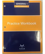 Senderos 1: Spanish for a Connected World, Practice Workbook [Paperback]... - $34.16