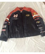 Wilsons Leather Home Depot Tony Stewart Jacket Size Xl Sleeves Have Logos - $39.59