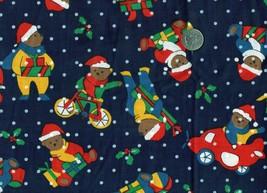 Vtg Hoffman California Christmas Santa Bear Fab... - $9.28