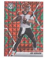 2020 Panini Mosaic Mosaic Reactive Green #201 Joe Burrow RC - Bengals Ro... - $122.22
