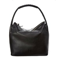 Tory Burch 55455 Large Taylor Hobo Women's Handbag (Black) - $368.00