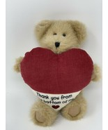 Boyds Bears MANNY THANKS Plush Bear Thank You From The Bottom Of My Hear... - $12.50