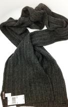 Michael Kors 100% Wool Charcoal Scarf MSRP: $98.00 - $44.54