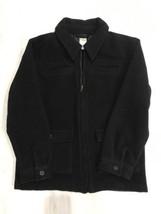 Gymboree Merry Occasions Boys Wool Dress Jacket Coat Black Size 7-8 Medium - $14.01