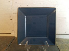 """Pottery Barn ASIAN SQUARE (Blue) Salad Plate 8 1/8"""" - $11.87"""