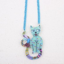 transparent cats spring/summer style new 2014 necklaces & pendant for gi... - $13.24