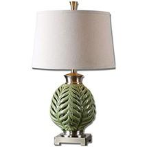 Uttermost 26285 Flowing Table Lamp, Fern Green - $217.80