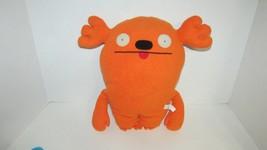 """Orange Mrs. Kassogi Ugly Doll 13-14"""" plush toy stuffed animal uglydoll - $9.89"""