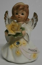 Lefton Jeweled Birthday Angel Series #6224 - $23.38