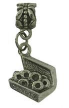 Sterling silver 925 baker dozen donut charm Jewelry fits European bead bracelet - $24.74