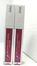 OFRA Liquid Lipstick in color Santorini Long Lasting Full Size LOT OF 2 - $11.64