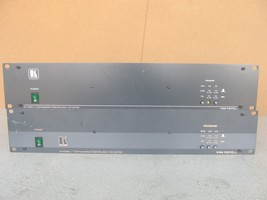 Lot of 2 Genuine Kramer VM-10YCXL S-Video Composite Distribution Amplifier - $437.73