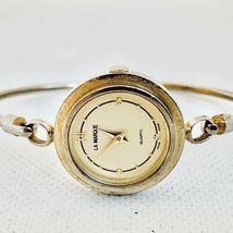 Vintage La Marque Gold Tone Bangle Bracelet Women's 24mm Watch image 6