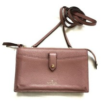 """Kate Spade Women's Mauve Pink Leather """"Alegra Larchmont Ave"""" Wallet with Strap - $108.89"""