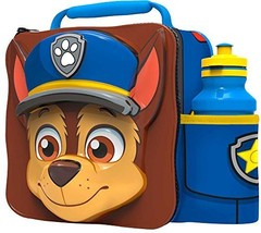 Paw Patrol 3d Thermal Lunch Bag With Sports Bottle - $22.59