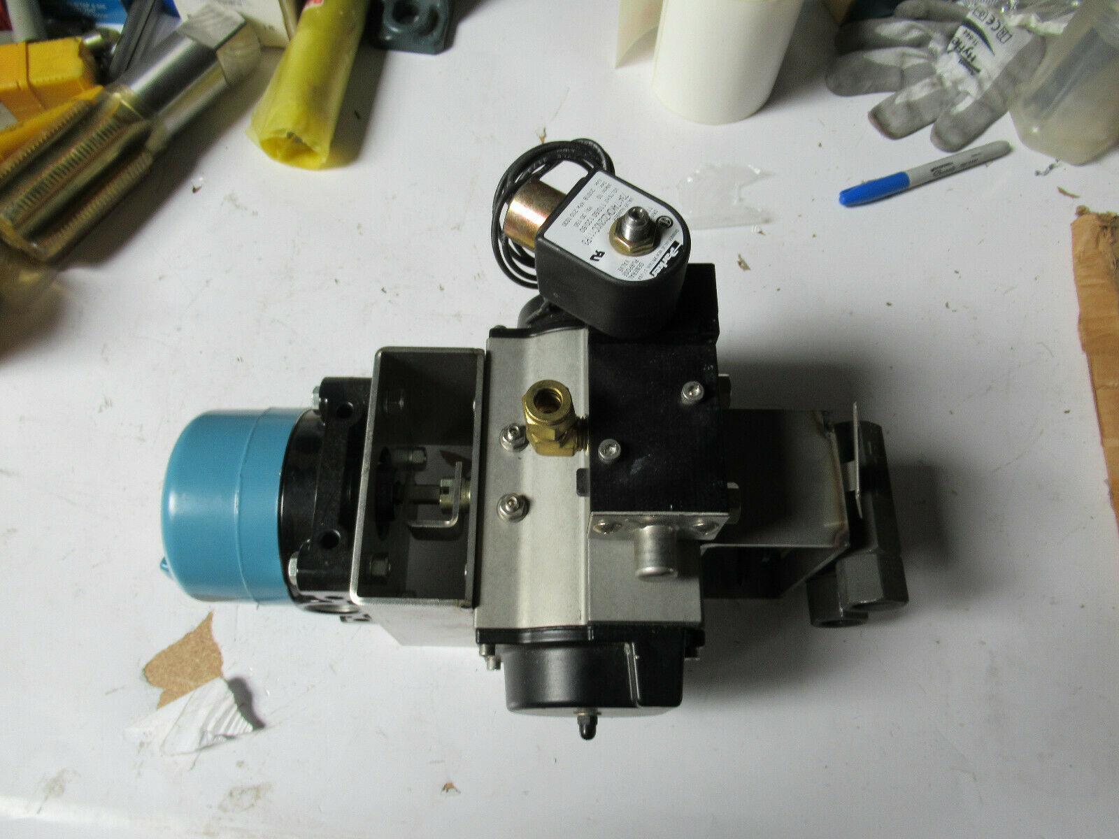 Micro Switch 11CX15-D01 W/ Bettis Actuator RPC450SR4 & Jamesbury Valves NEW