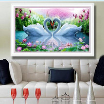 Goose Animal 5D Diamond Painting Cross Stitch Kit DIY Craft Bedroom Cafe... - $28.99