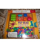 Chicken Socks Pop Bead Critters Activity Book with Beads - $70.00