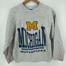 Salem Sportswear Sweatshirt Youth XL 18-20 Gray Michigan University Wolv... - $27.76