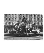 Place de Terreaux Fontaine de Bartholdi Lyon France Glossy Estel Postcard - $4.99