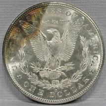 1880-S Morgan Dollar Semi PL w/ Rainbow Reverse CH UNC  AD494 - $125.71