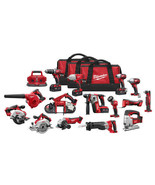 Milwaukee 2695-15 M18 18V Cordless Lithium-Ion 15-Tool Combo Kit - $2,710.00