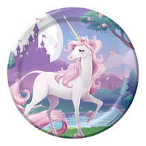 Unicorn Fantasy Dessert Plates (8) - $2.68