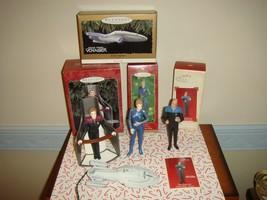 Hallmark 4 Star Trek Voyager Ornaments From 1996, 1998, 2000, 2002 - $63.99