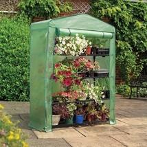 Gardman 7600 4 Tier Extra-Wide Growhouse Greenhouse NEW - $65.95