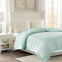 Luxury Year Round Seafoam Microfiber Down Alternative Blanket w/3M Scotc... - $1.095,21 MXN+