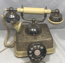Radio Shack French Continental  Vintage Rotary Phone 43-320A - $39.95