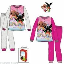 Kinder Mädchen Rosa BING Bunny Zula Pyjama Größen 3 5 4 6 7 Geschenk Box... - $28.38