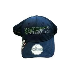 NWT New Seattle Seahawks New Era 39Thirty Sideline Netech Training L/XL Flex Hat - $22.72