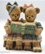 Berry Hill Bears Sharing The World Resin Figurine Decoraive Collectible ... - $9.99