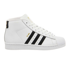 Adidas Promodel B85962 White / Black Shoes Junior 4Y-7Y - $69.95