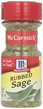 McCormick Sage, Rubbed, .5 oz by McCormick - $10.88