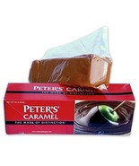 Peter's Creamy Caramel, 5 Lb. Block (Case of 6) - $169.99