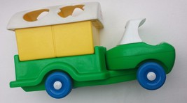 Little Tikes Recycle Truck Toddle Tots Truck Only Yellow Green Blue  - $12.99