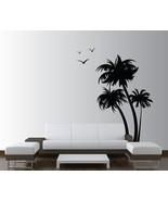 Innovative Stencils 1132 84 mblack mirror Palm Coconut Tree Nursery Wall... - $43.40