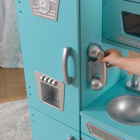 Kidkraft Vintage Play Kitchen Blue And 50 Similar Items