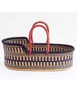 African Moses basket,Ghana Moses basket,hand woven basket,Handmade toddl... - $150.00