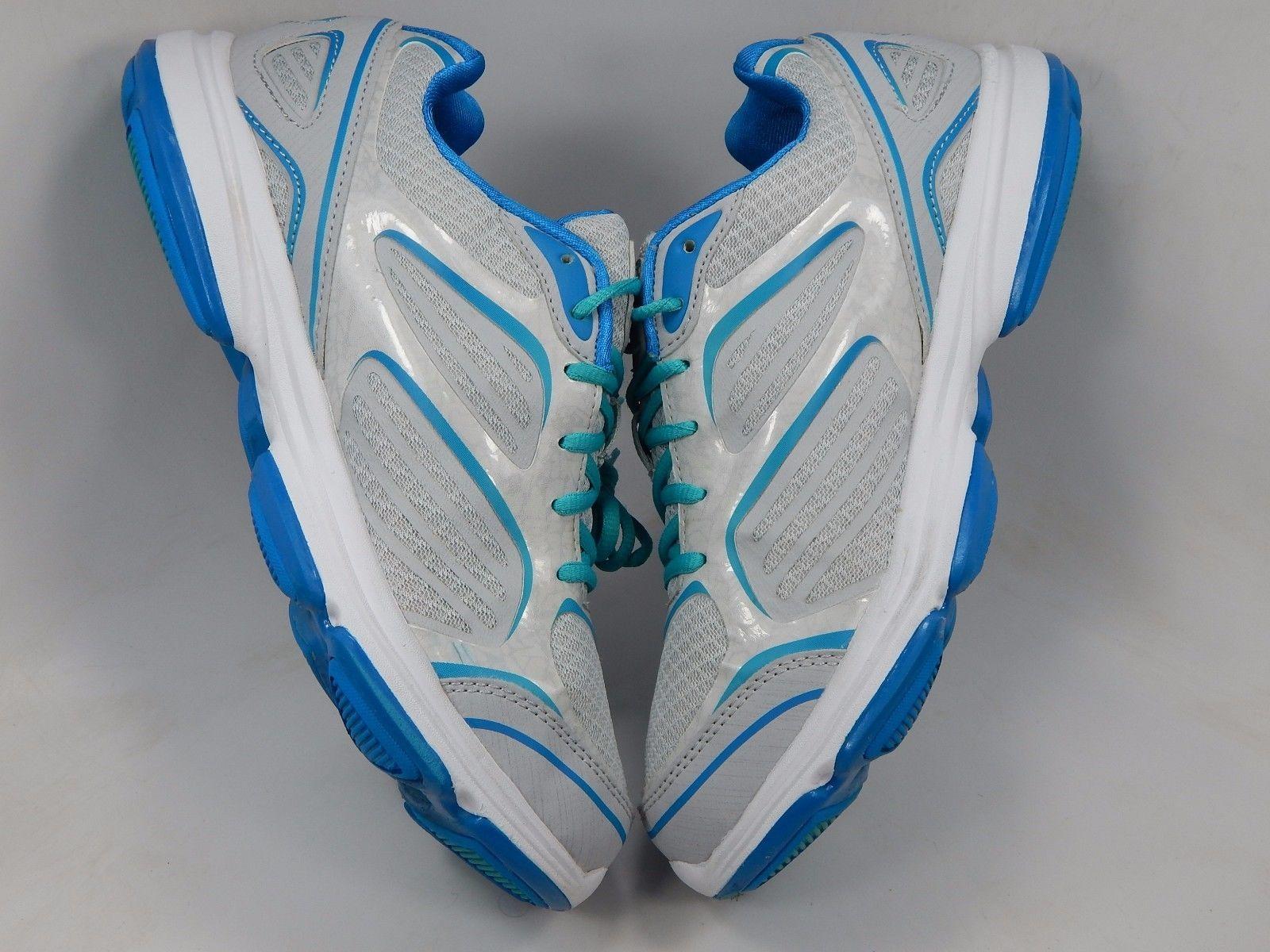 Ryka Devo Plus Women's Running Shoes Size US 8.5 M (B) EU 39.5 Silver Blue
