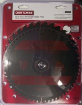"""Craftsman 37676 10"""" x 32 Tooth & 60 Tooth Carbide Saw Blades - $27.72"""