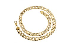 New Fashion Gold Color Twisted Singapore Chain - $12.59